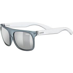 UVEX Sportstyle 511 Sportbril Kinderen, grey transparent/litemirror silver